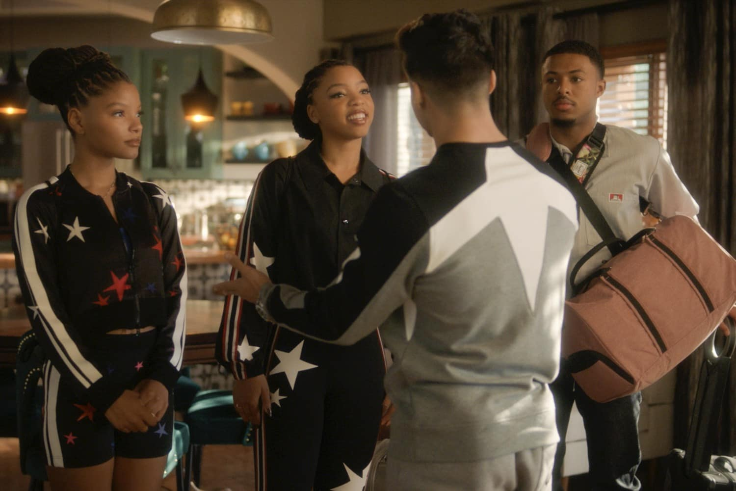 GROWN-ISH Season 3 Episode 16 Photos All In Love Is Fair HALLE BAILEY, CHLOE BAILEY, DIGGY SIMMONS