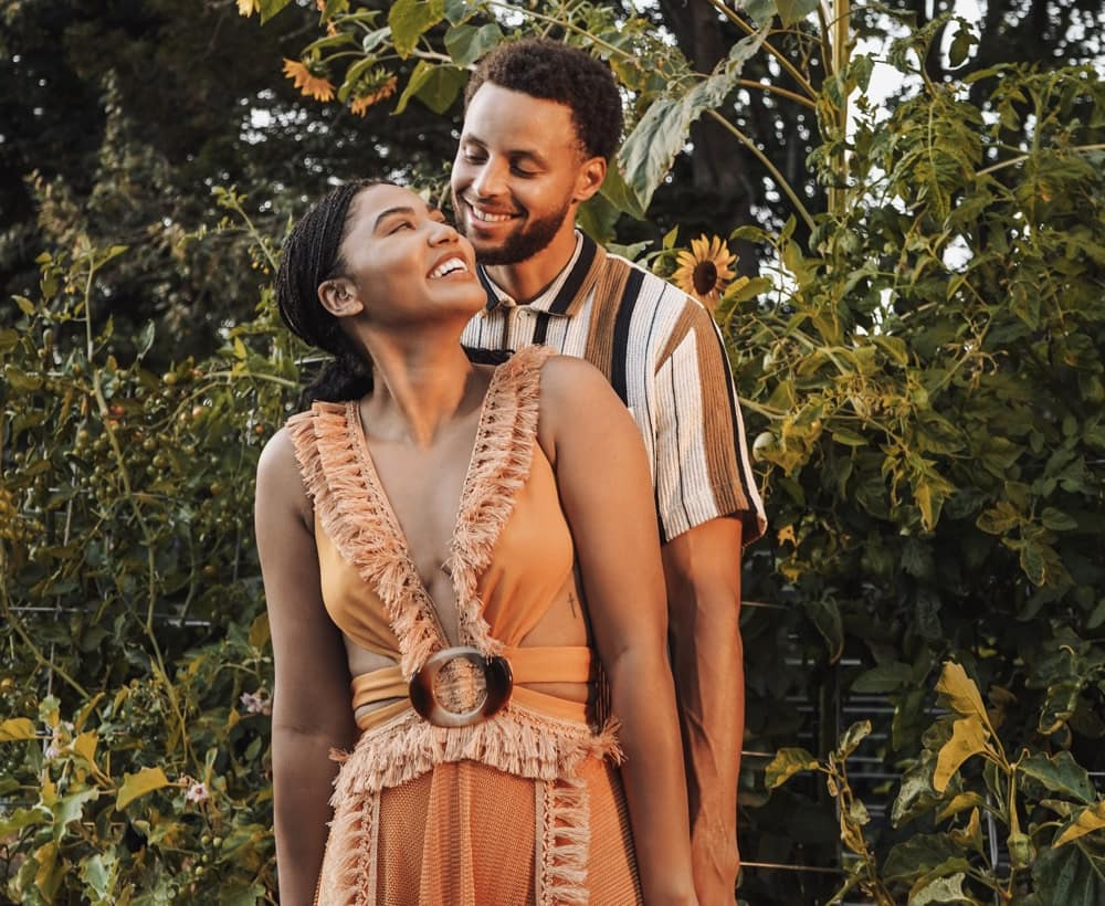 Ayesha and Stephen Curry 2