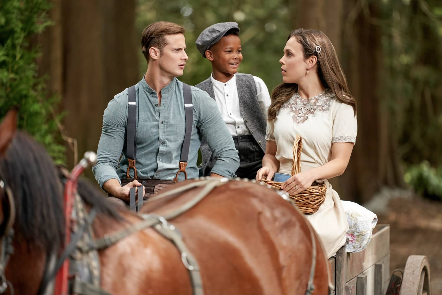 When Calls The Heart Season 8 Episode 4 The inquiry begins, and Nathan starts to question his own actions. Meanwhile, the Canfields, a new family in town, buy Gowen's cabin and Elizabeth welcomes them. Lee's sister and niece arrive in Hope Valley.   Photo: Aren Buchholz, Elias Leacock, Erin Krakow