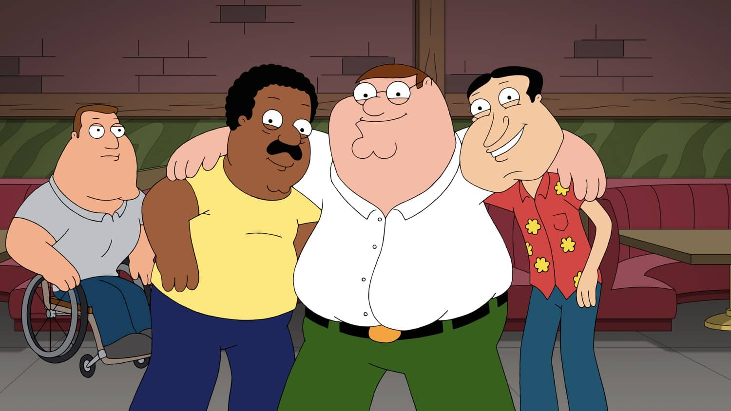 FAMILY GUY Season 19 Episode 14 : Stewie gets a mail order bride from Ukraine and experiences domestic life. Meanwhile, Peter and Chris become addicted to free hotel breakfast buffets in the ìThe Marrying Kindî episode of FAMILY GUY airing Sunday, March 14 (9:30-10:00 PM ET/PT) on FOX. FAMILY GUY © 2021 by 20th Television.