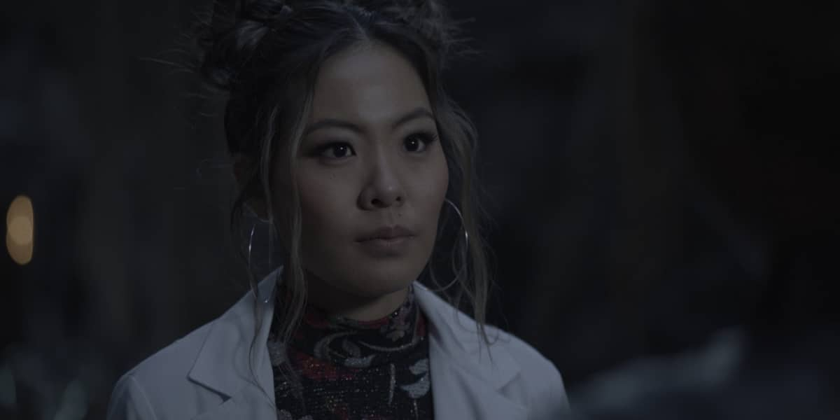 "Batwoman Season 2 Episode 7 -- ""It's Best You Stop Digging"" -- Image Number: XXX -- Pictured: Nicole Kang as Mary Hamilton -- Photo: The CW -- © 2021 The CW Network, LLC. All Rights Reserved."