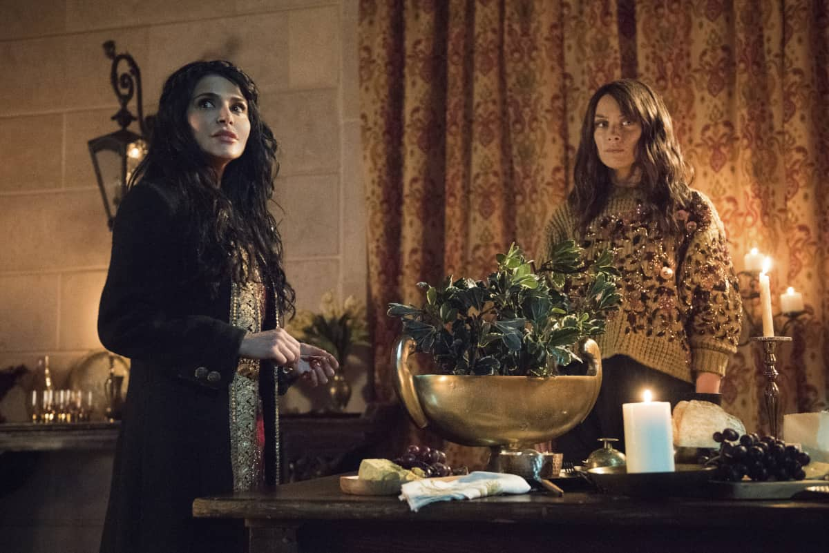 "Batwoman Season 2 Episode 7 -- ""It's Best You Stop Digging"" -- Image Number: XXX -- Pictured (L-R): Shivaani Ghai as Safiyah and Rachel Skarsten as Alice -- Photo: Dean Buscher/The CW -- © 2021 The CW Network, LLC. All Rights Reserved."