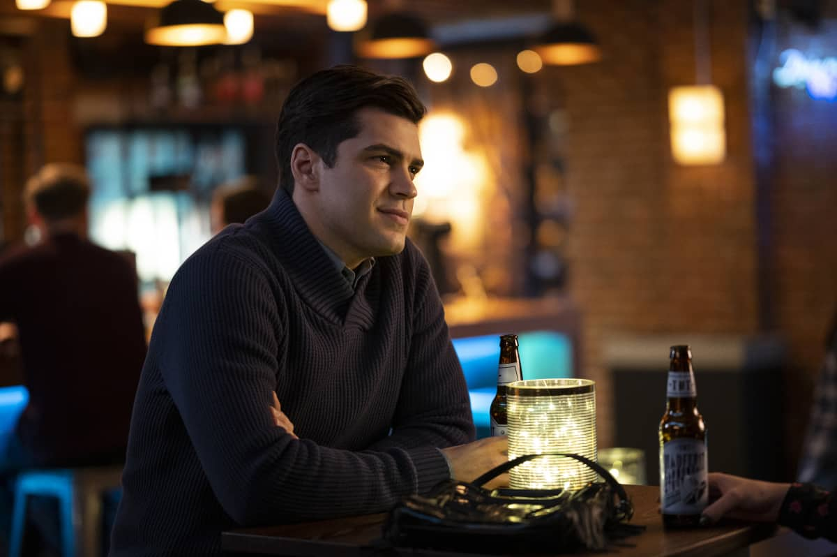 """Charmed Season 3 Episode 6 -- """"Private Enemy No. 1"""" -- Image Number: XXX -- Pictured: Jason Diaz as Antonio -- Photo: Kailey Schwerman/The CW -- © 2021 The CW Network, LLC. All Rights Reserved."""