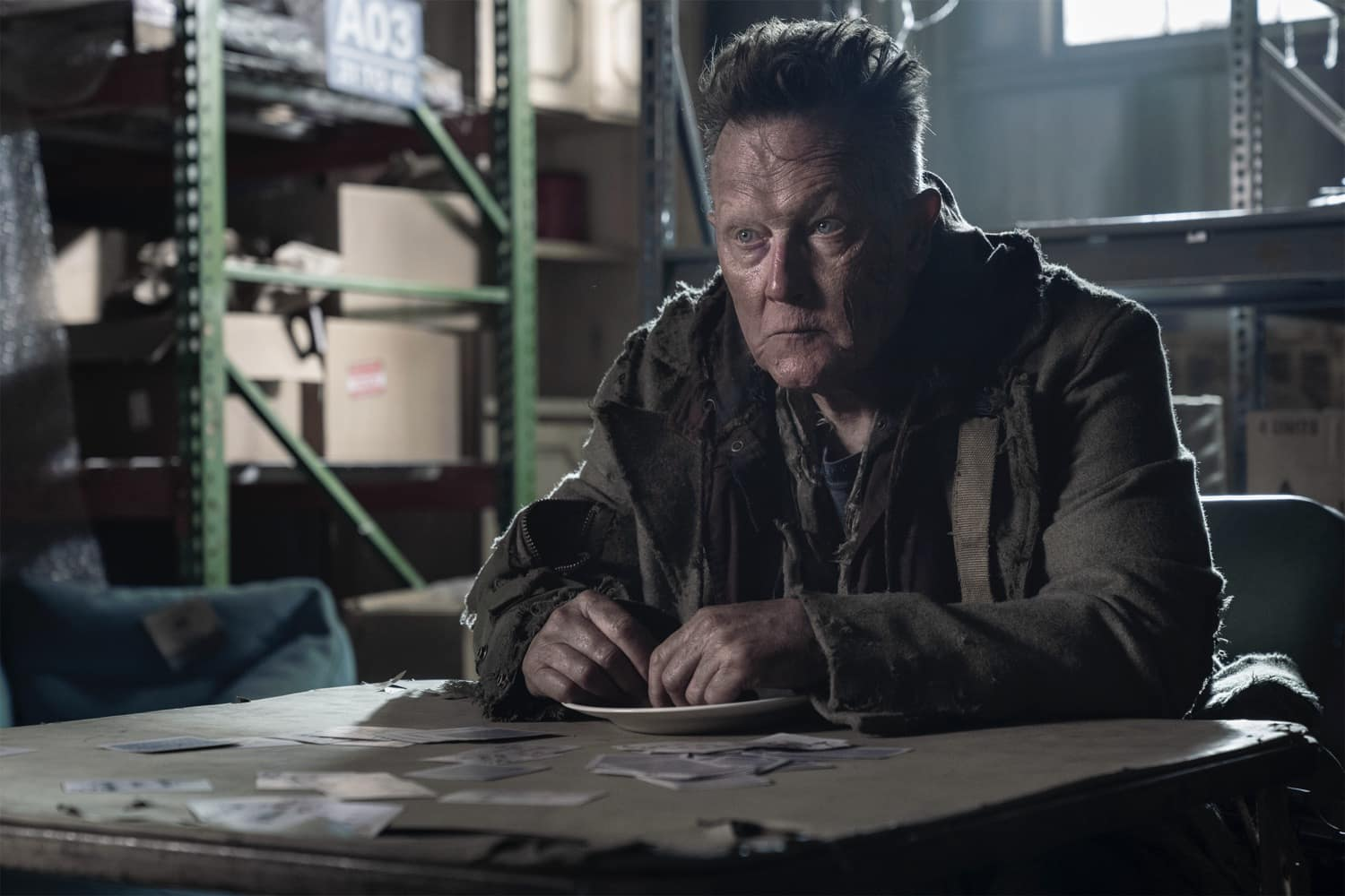 Robert Patrick as Mays- The Walking Dead _ Season 10, Episode 19 - Photo Credit: Josh Stringer/AMC