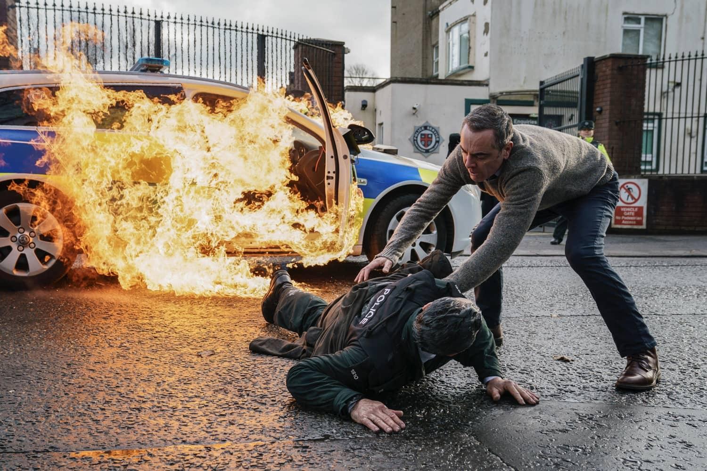 James Nesbitt as Tom Brannick - Bloodlands _ Season 1, Episode 1 - Photo Credit: Steffan Hill/AcornTV