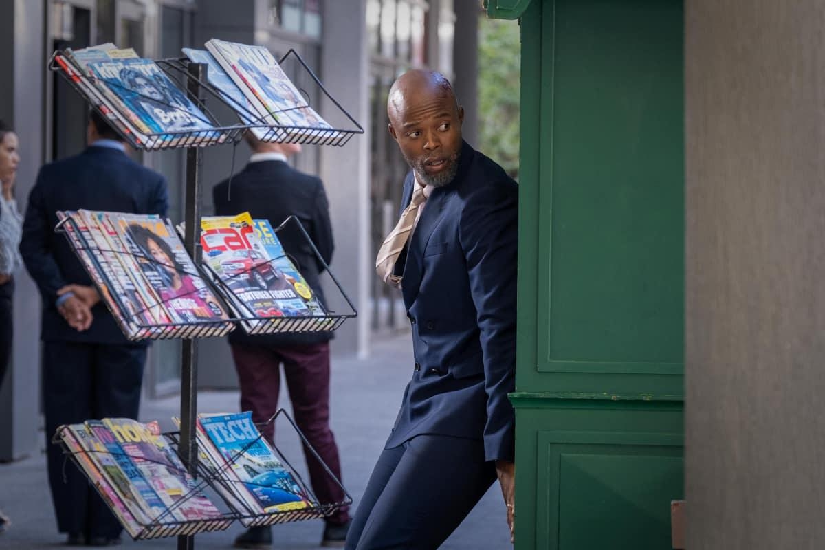"Bulletproof Season 3 Episode 1 -- ""South Africa: Episode 1"" -- Image Number: BLP301_6629.jpg -- Pictured: Thapelo Mokoena as William -- Photo: © Sky UK Limited."
