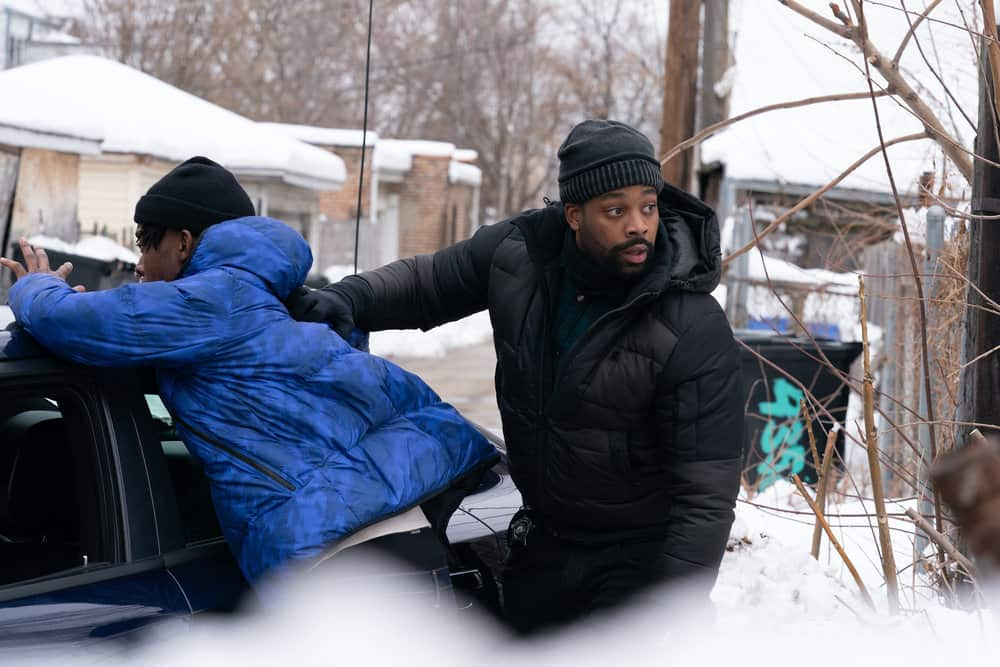 "CHICAGO P.D. -- ""Impossible Dream"" Episode 809 -- Pictured: (l-r) LaRoyce Hawkins as Kevin Atwater -- (Photo by: Sandy Morris/NBC)"