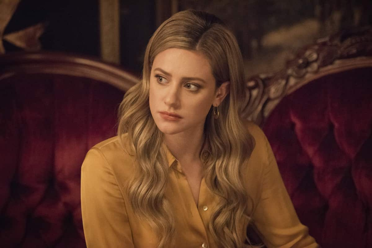 "Riverdale -- ""Chapter Eighty-Four: Lock & Key"" -- Image Number: RVD508b_0107r -- Pictured: Lili Reinhart as Betty Cooper -- Photo: Dean Buscher/The CW -- © 2021 The CW Network, LLC. All Rights Reserved."