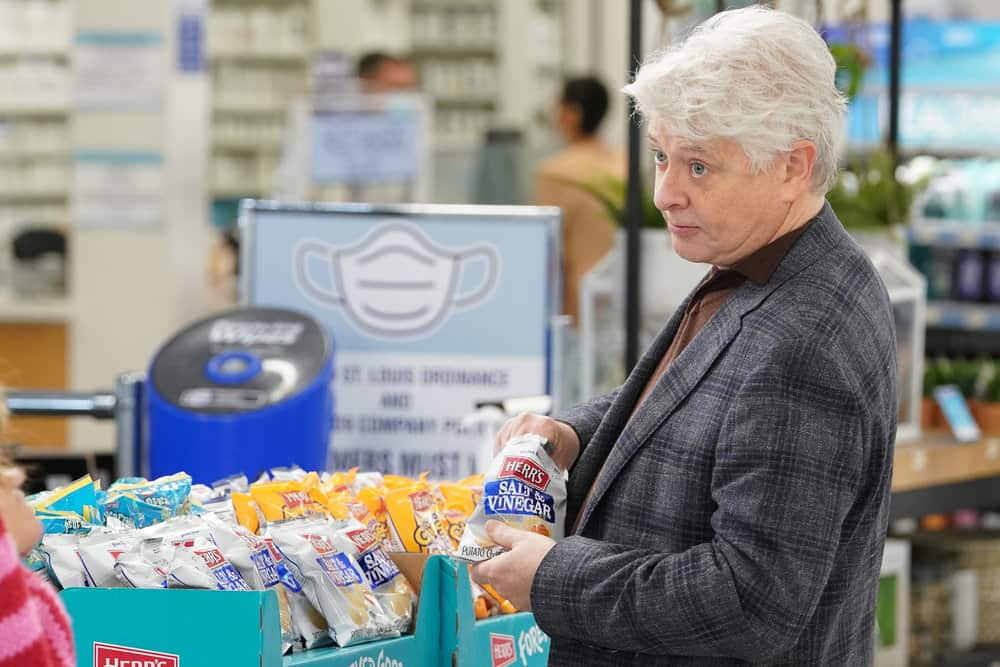 "SUPERSTORE -- ""Lowell Anderson"" Episode 613 -- Pictured: Dave Foley as Lowell Anderson -- (Photo by: Chris Haston/NBC)"