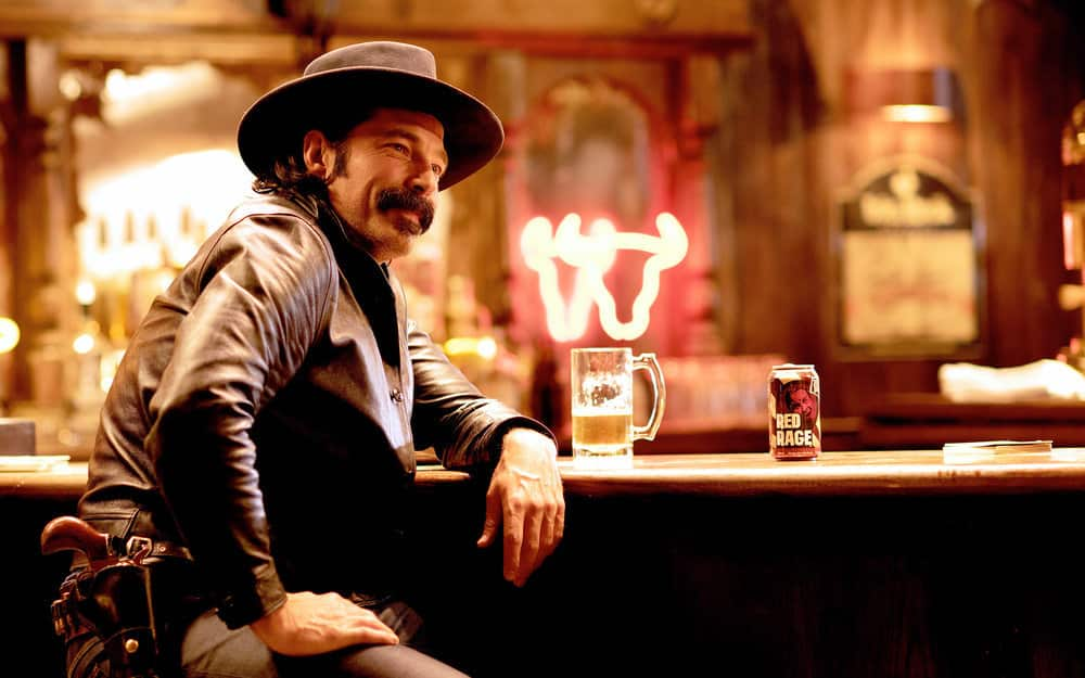 """WYNONNA EARP -- """"Crazy"""" Episode 409 -- Pictured: Tim Rozon as Doc Holliday -- (Photo by: Michelle Faye/Wynonna Earp Productions, Inc./SYFY)"""