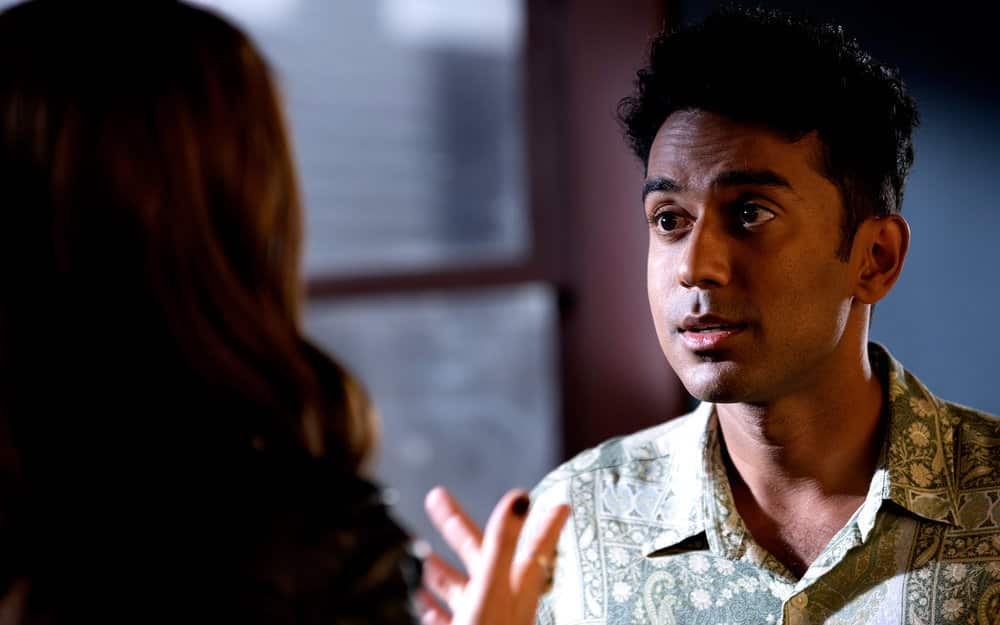 "WYNONNA EARP -- ""Crazy"" Episode 409 -- Pictured: Varun Saranga as Jeremy -- (Photo by: Michelle Faye/Wynonna Earp Productions, Inc./SYFY)"