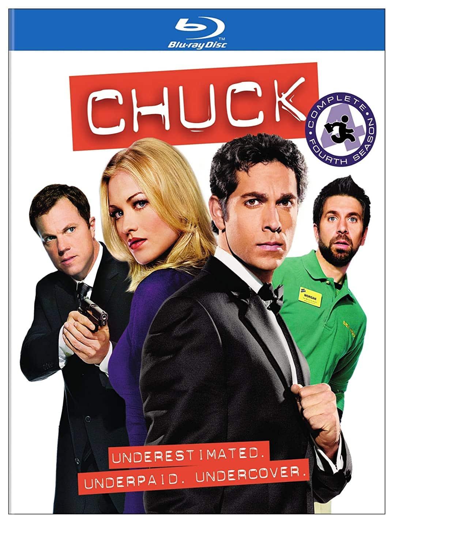 Chuck Season 4 Bluray Cover