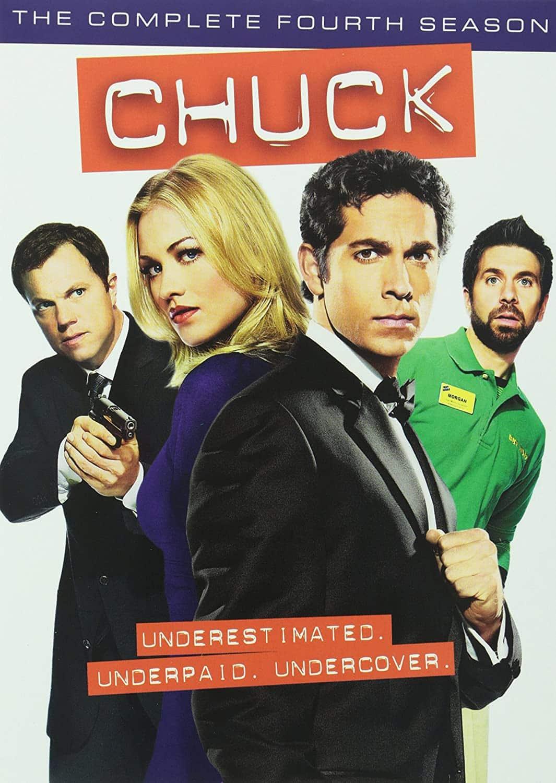 Chuck Season 4 DVD Cover