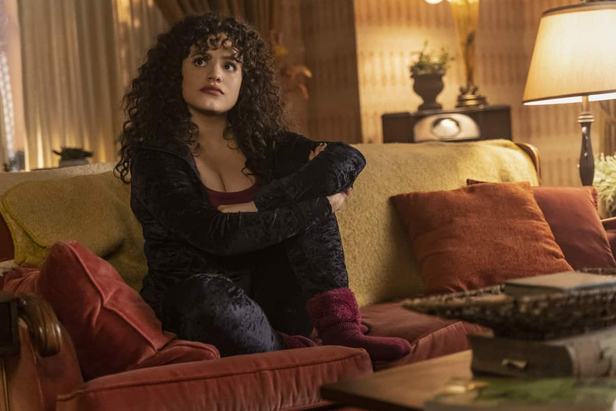 """Charmed -- """"Witch Way Out"""" -- Image Number: CMD307a_ 00456r -- Pictured: Sarah Jeffery as Maggie Vera -- Photo: Colin Bentley/The CW -- © 2021 The CW Network, LLC. All Rights Reserved."""