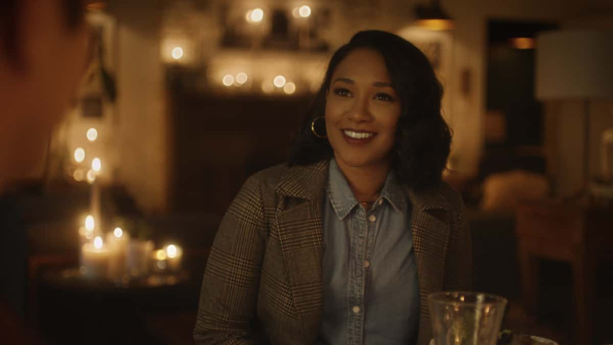 """The Flash -- """"Central City Strong"""" -- Image Number: FLA704fg_0001r.jpg -- Pictured: Candice Patton as Iris West - Allen -- Photo: The CW -- © 2021 The CW Network, LLC. All rights reserved"""