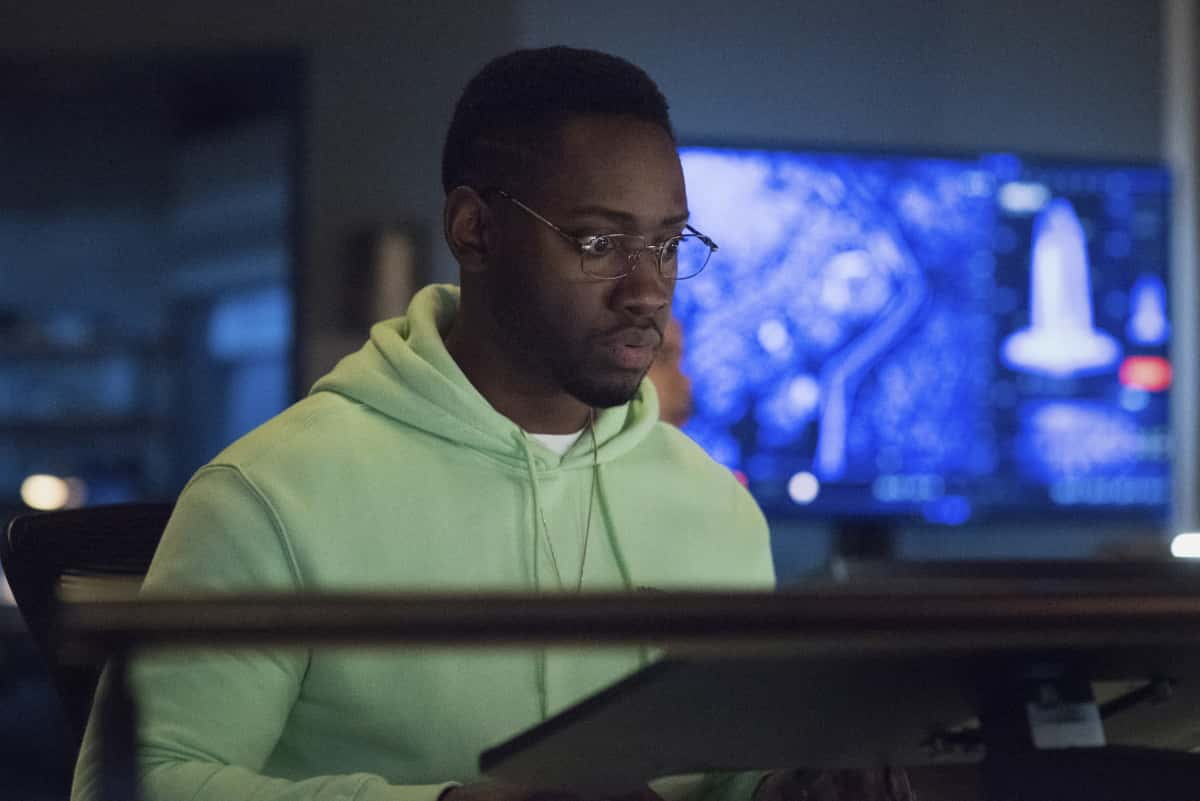 """The Flash -- """"Central City Strong"""" -- Image Number: FLA704b_0007r.jpg -- Pictured: Brandon McKnight as Chester P. Runk -- Photo: Katie Yu/The CW -- © 2021 The CW Network, LLC. All rights reserved"""