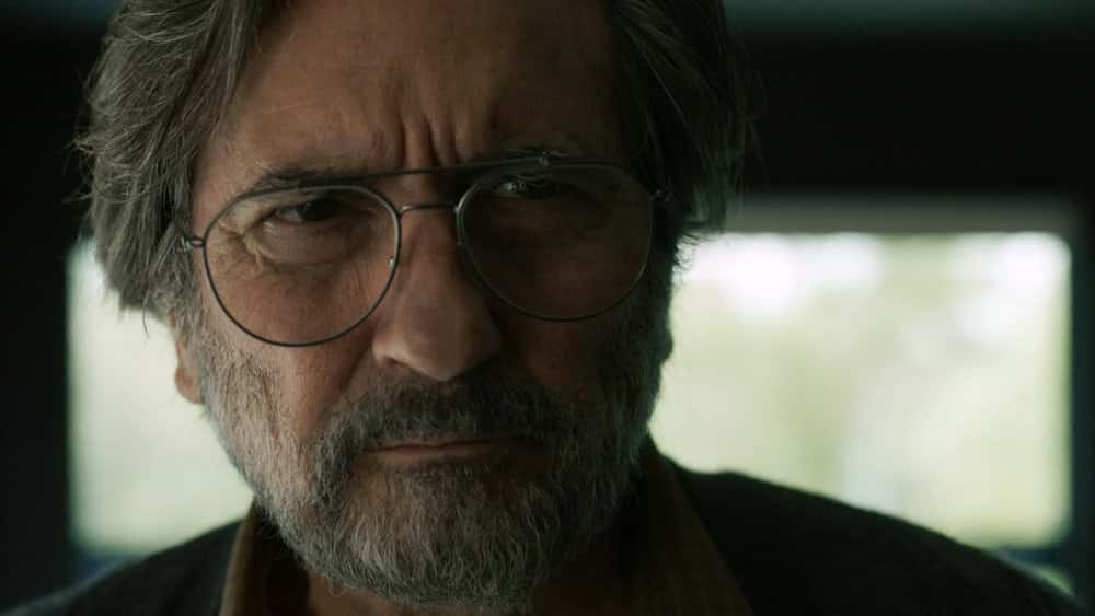 "THIS IS US -- ""One Small Step"" Episode 511 -- Pictured in this screen grab: Griffin Dunne as Nicky -- (Photo by: NBC)"