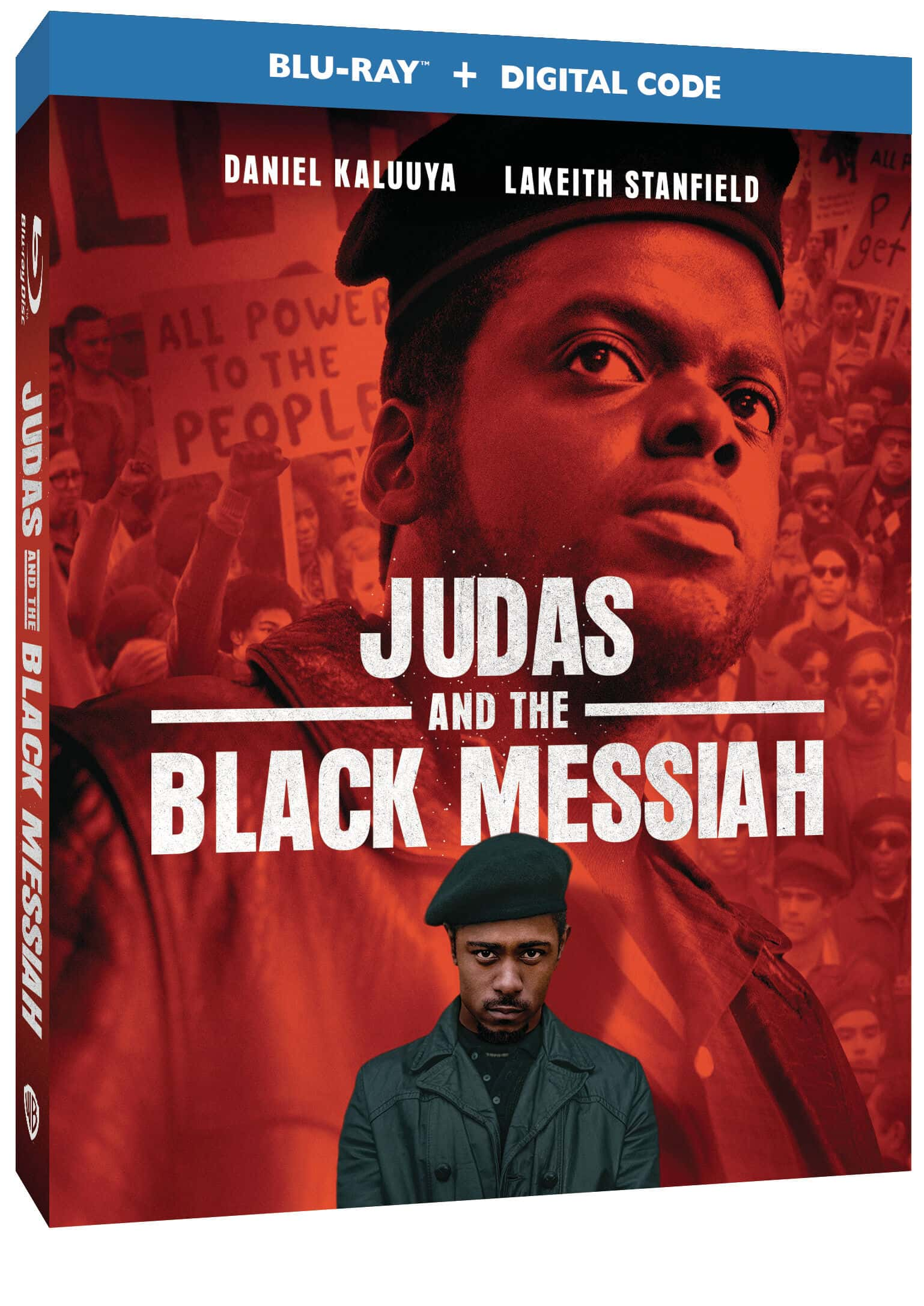 Judas And The Black Messiah Bluray Cover