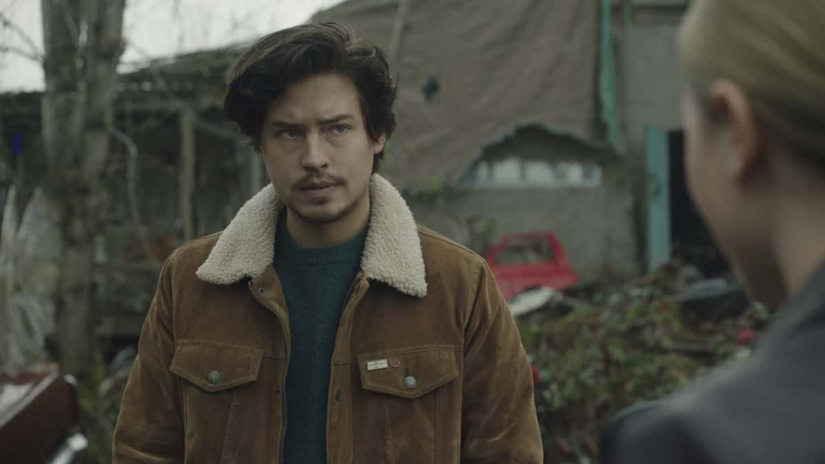 """Riverdale Season 5 Episode 9 -- """"Chapter Eighty-Five: Destroyer"""" -- Image Number: XXX -- Pictured: Cole Sprouse as Jughead Jones -- Photo: The CW -- © 2021 The CW Network, LLC. All Rights Reserved."""
