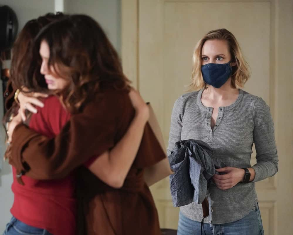 """STATION 19 Season 4 Episode 8 - """"Make No Mistake, He's Mine"""" – Vic's love life is complicated again as she learns of a shocking secret. Meanwhile, Andy grows frustrated at Sullivan for undermining her authority, and Maya struggles to keep her jealousy at bay when one of Carina's old flames comes to visit on a new episode of """"Station 19,"""" THURSDAY, MARCH 25 (8:00-9:00 p.m. EDT), on ABC. (ABC/Eric McCandless) DANIELLE SAVRE"""