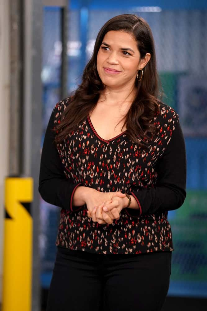 """SUPERSTORE Season 6 Episode 14 -- """"Perfect Store"""" Episode 614 -- Pictured: America Ferrera as Amy -- (Photo by: Tyler Golden/NBC)"""