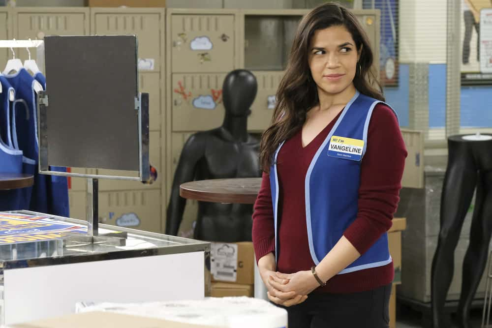 """SUPERSTORE Season 6 Episode 15 -- """"All Sales Final"""" Episode 615 -- Pictured: America Ferrera as Amy -- (Photo by: Trae Patton/NBC)"""