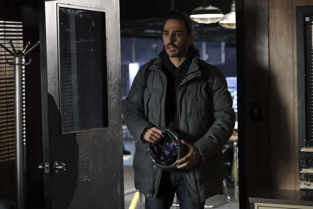 "THE BLACKLIST Season 8 Episode 11 -- ""Captain Kidd (#96)"" Episode 811 -- Pictured: Amir Arison as Aram Mojtabai -- (Photo by: Will Hart/NBC)"