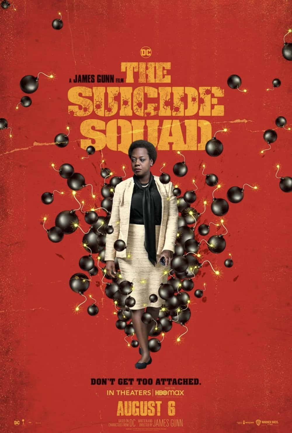 Viola Davis as Amanda Waller in The Suicide Squad