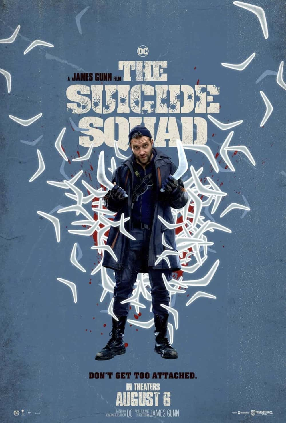 Jai Courtney as Captain Boomerang in The Suicide Squad