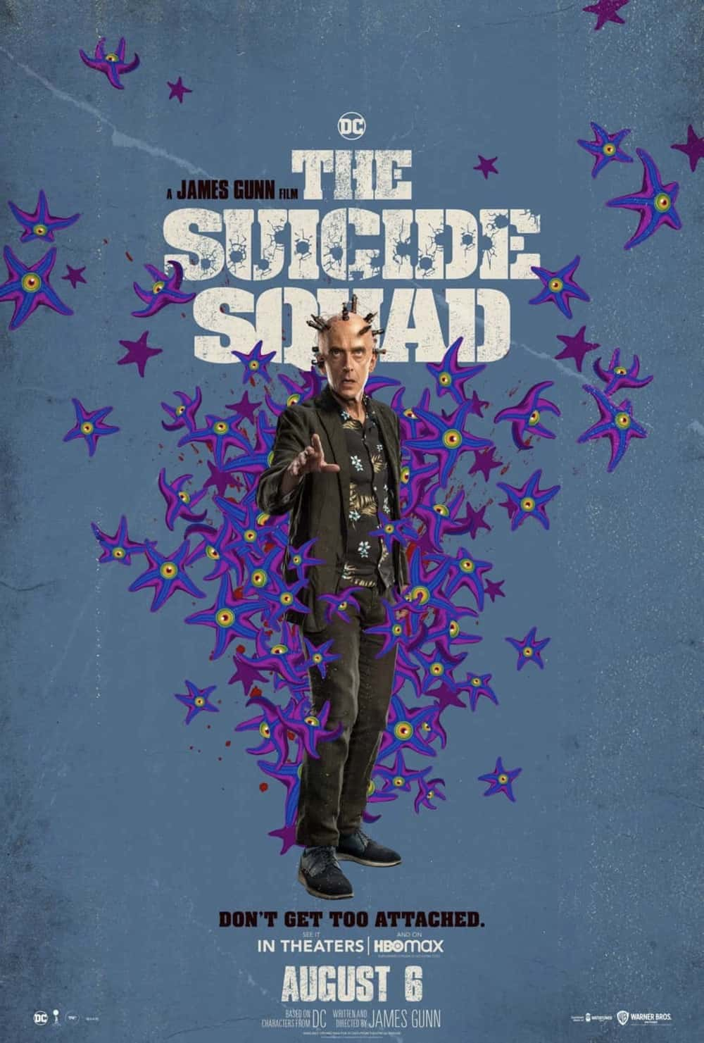 Peter Capaldi as Thinker in The Suicide Squad
