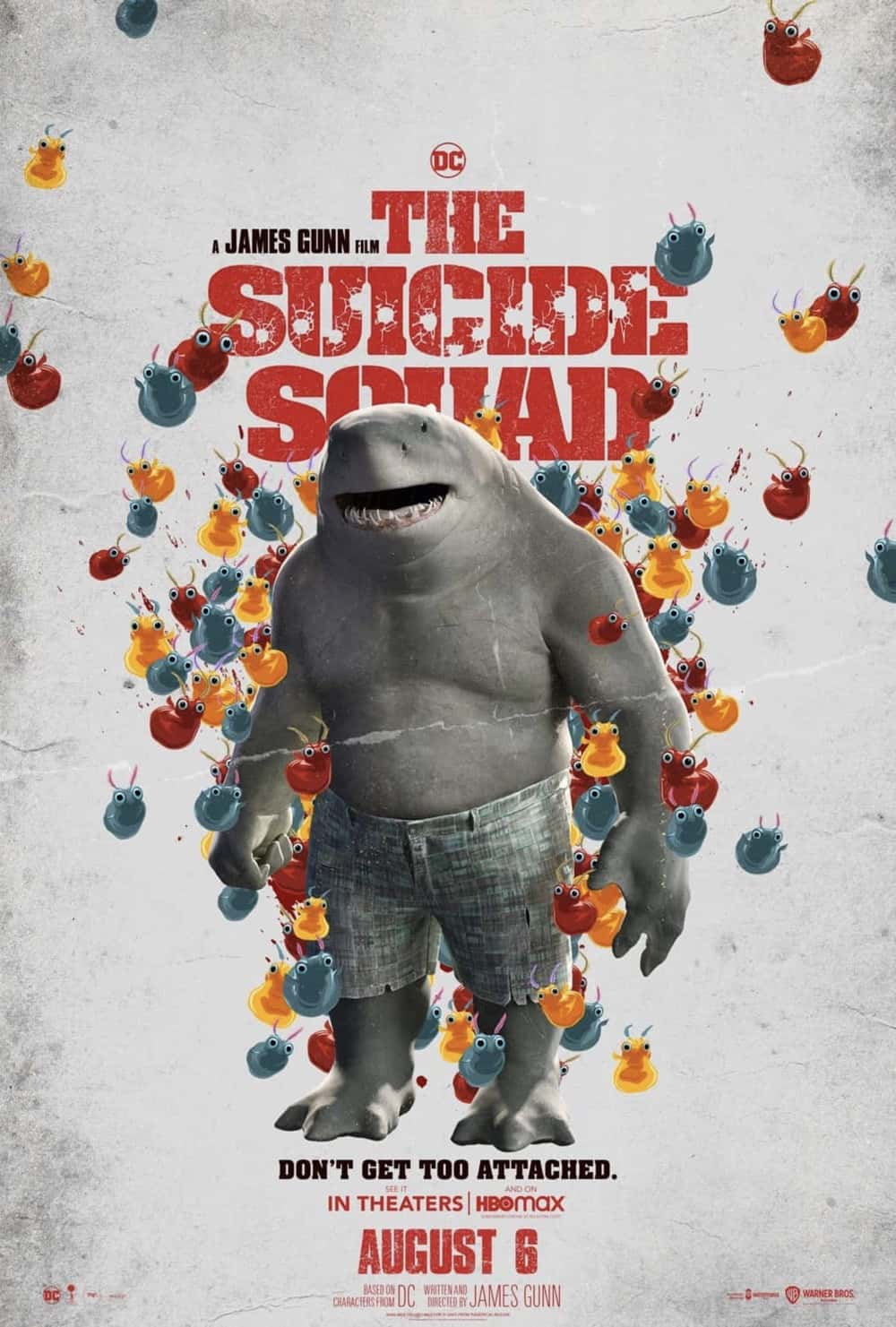 Sylvester Stallone as King Shark in The Suicide Squad