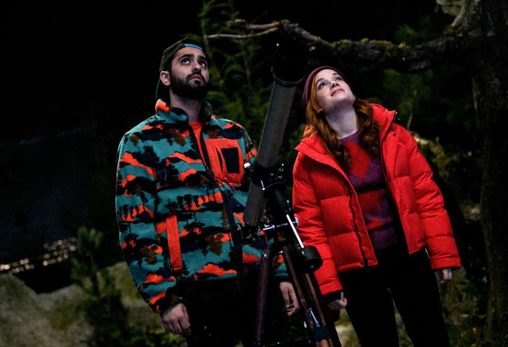 "ZOEY'S EXTRAORDINARY PLAYLIST Season 2 Episode 7 -- ""Zoey's Extraordinary Memory"" Episode 207 -- Pictured:(l-r) Kapil Talwalkar as Tobin, Jane Levy as Zoey Clarke -- (Photo by: Eric Milner/NBC/Lionsgate)"