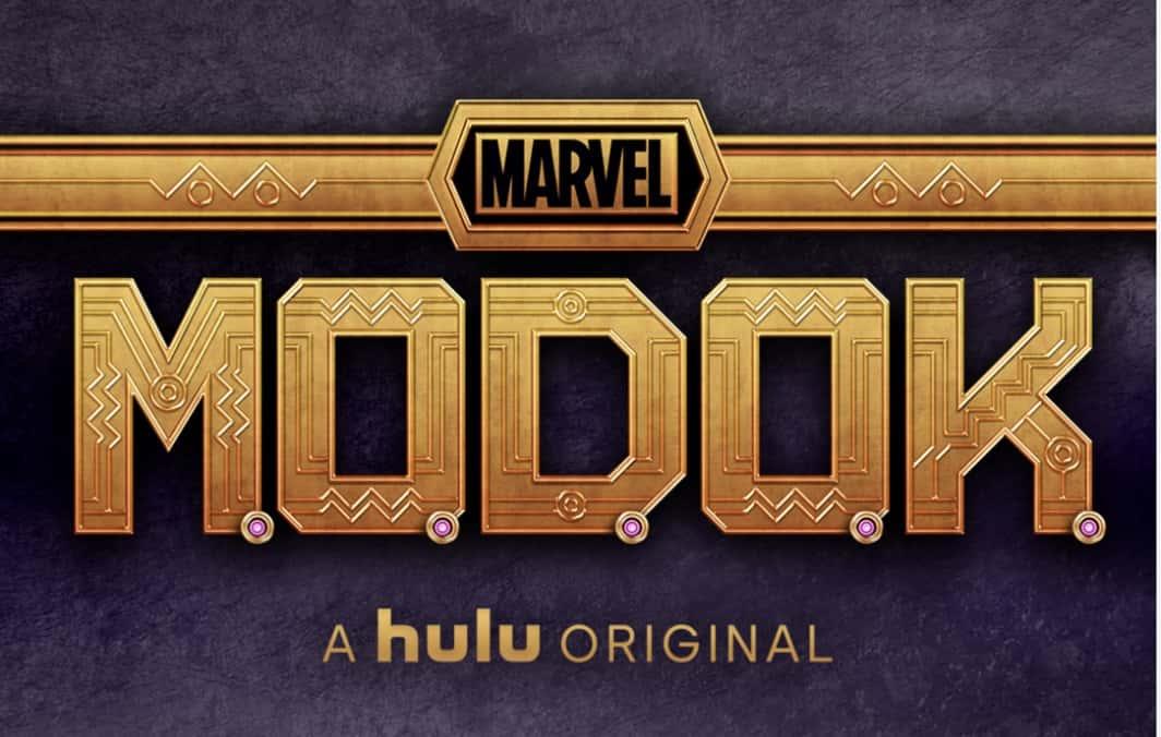 MODOK Logo Marvel Hulu
