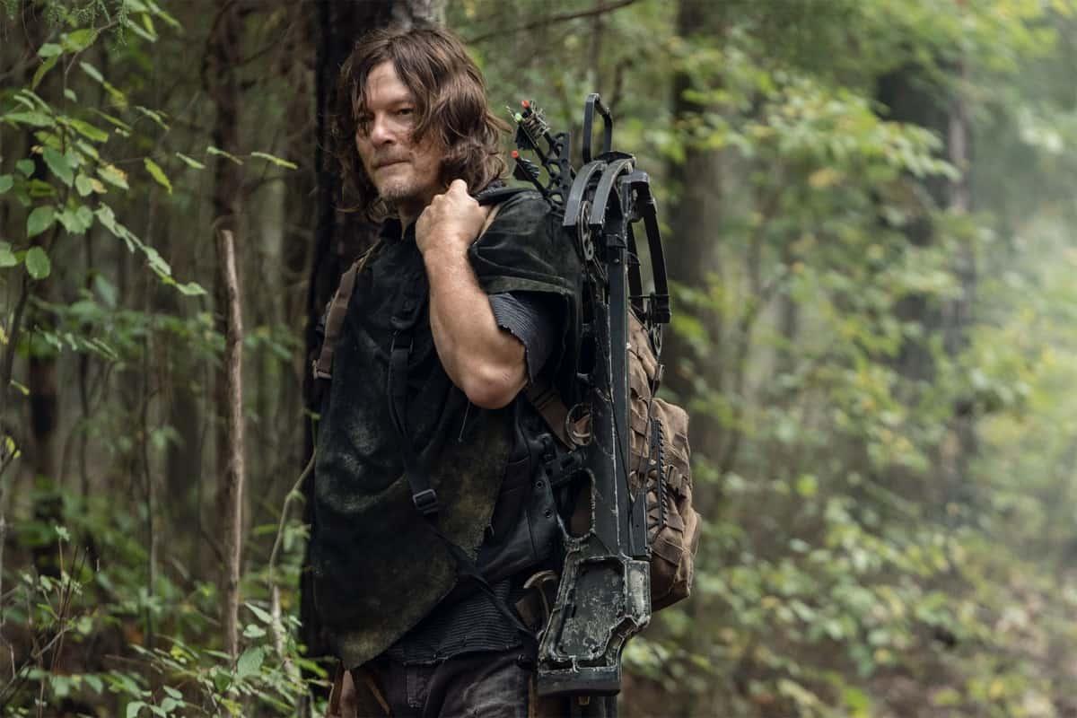 The Walking Dead Season 10 Episode 21 Norman Reedus as Daryl Dixon - The Walking Dead _ Season 10, Episode 21 - Photo Credit: Eli Ade/AMC