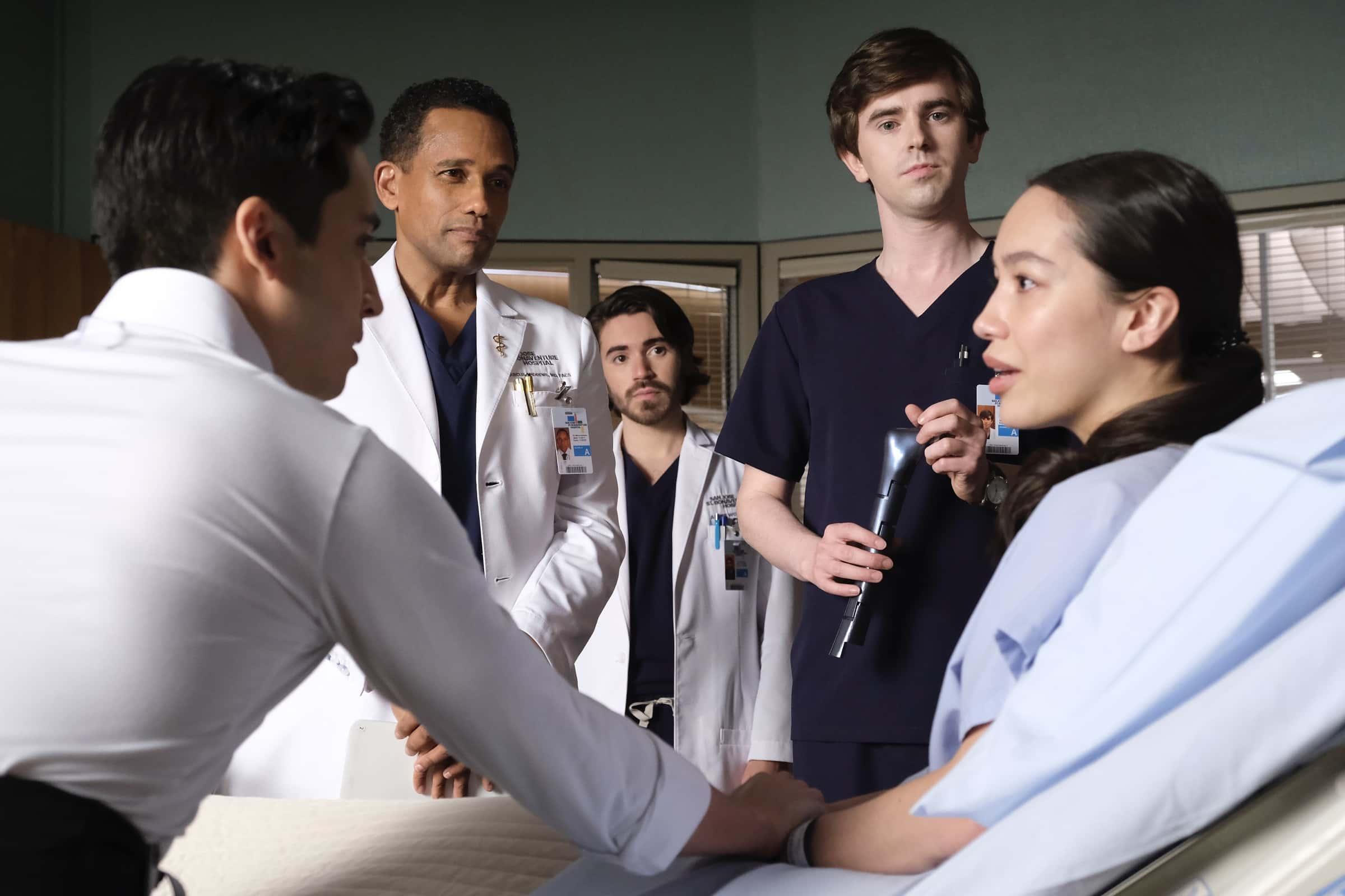 THE GOOD DOCTOR Season 4 Episode 13 Spilled Milk HILL HARPER, FREDDIE HIGHMORE