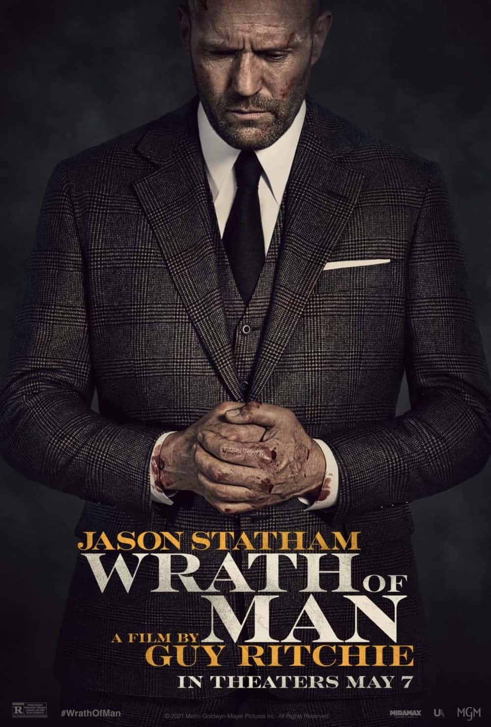 Wrath Of Man Movie Poster Jason Statham