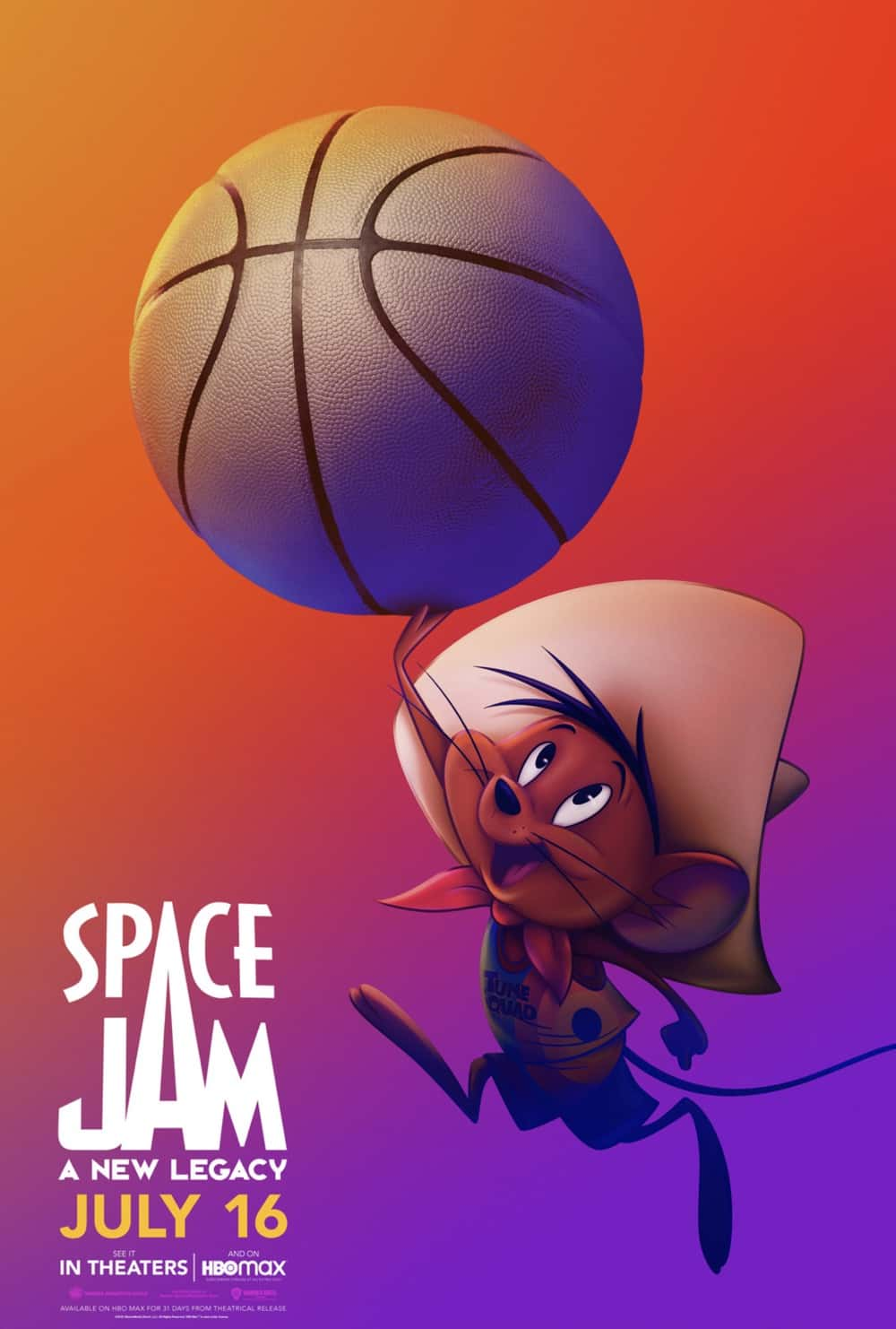 Space Jam : A New Legacy Speedy Gonzales Poster