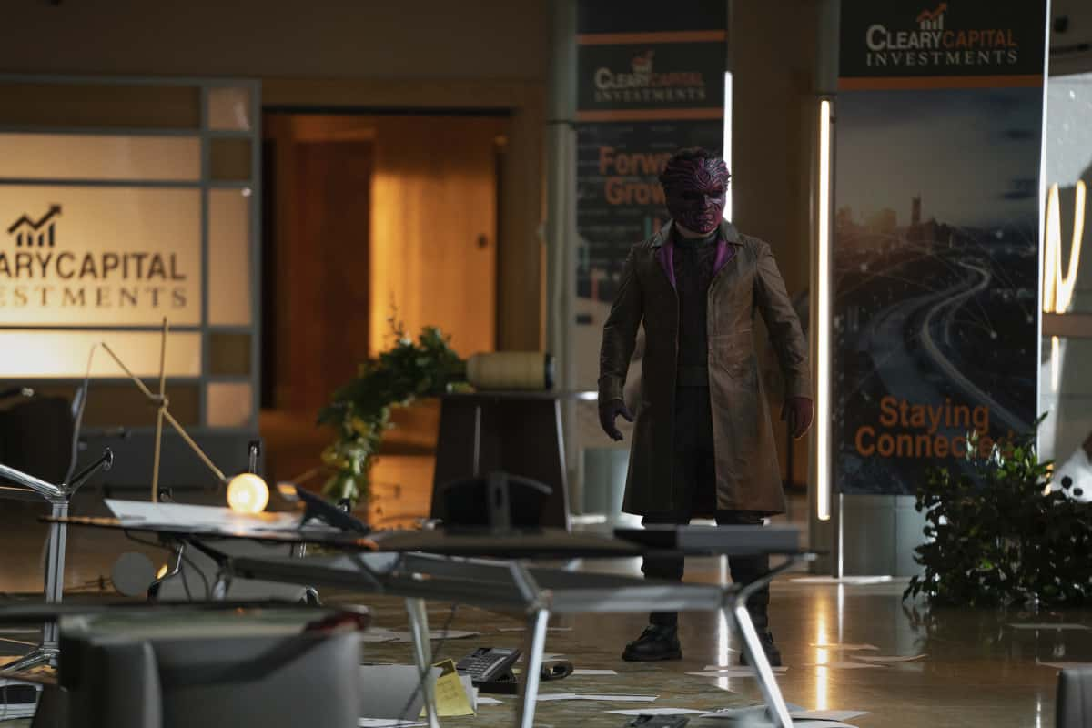 """The Flash -Season 7 Episode 5 - """"Fear Me"""" -- Image Number: FLA705b_0005r.jpg -- Pictured: Bashir -- Photo: Katie Yu/The CW -- © 2021 The CW Network, LLC. All rights reserved"""