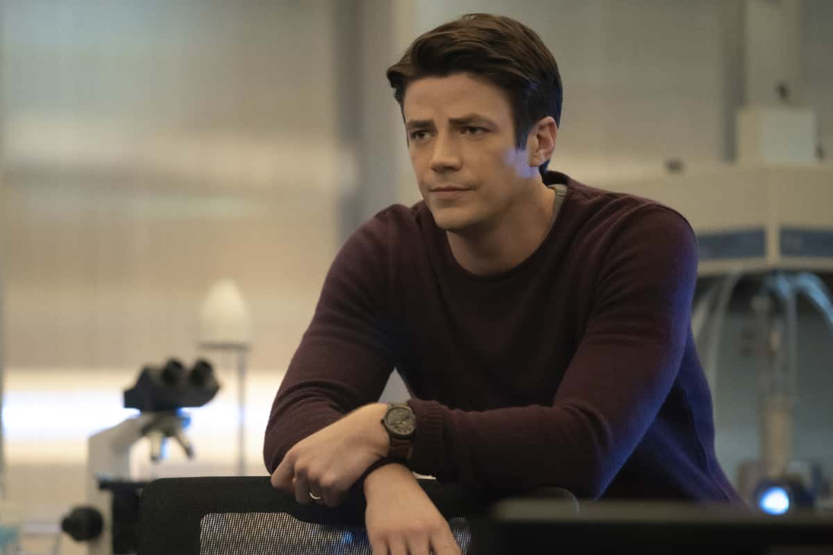 """The Flash Season 7 Episode 5 -- """"Fear Me"""" -- Image Number: FLA705a_0289r.jpg -- Pictured: Grant Gustin as Barry Allen -- Photo: Katie Yu/The CW -- © 2021 The CW Network, LLC. All rights reserved"""