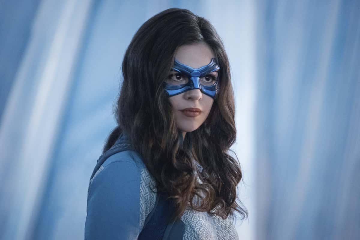 """Supergirl Season 6 Episode 1 -- """"Rebirth"""" -- Image Number: SPG520A_0497r -- Pictured: Nicole Maines as Dreamer-- Photo: Dean Buscher/The CW -- © 2021 The CW Network, LLC. All Rights Reserved."""