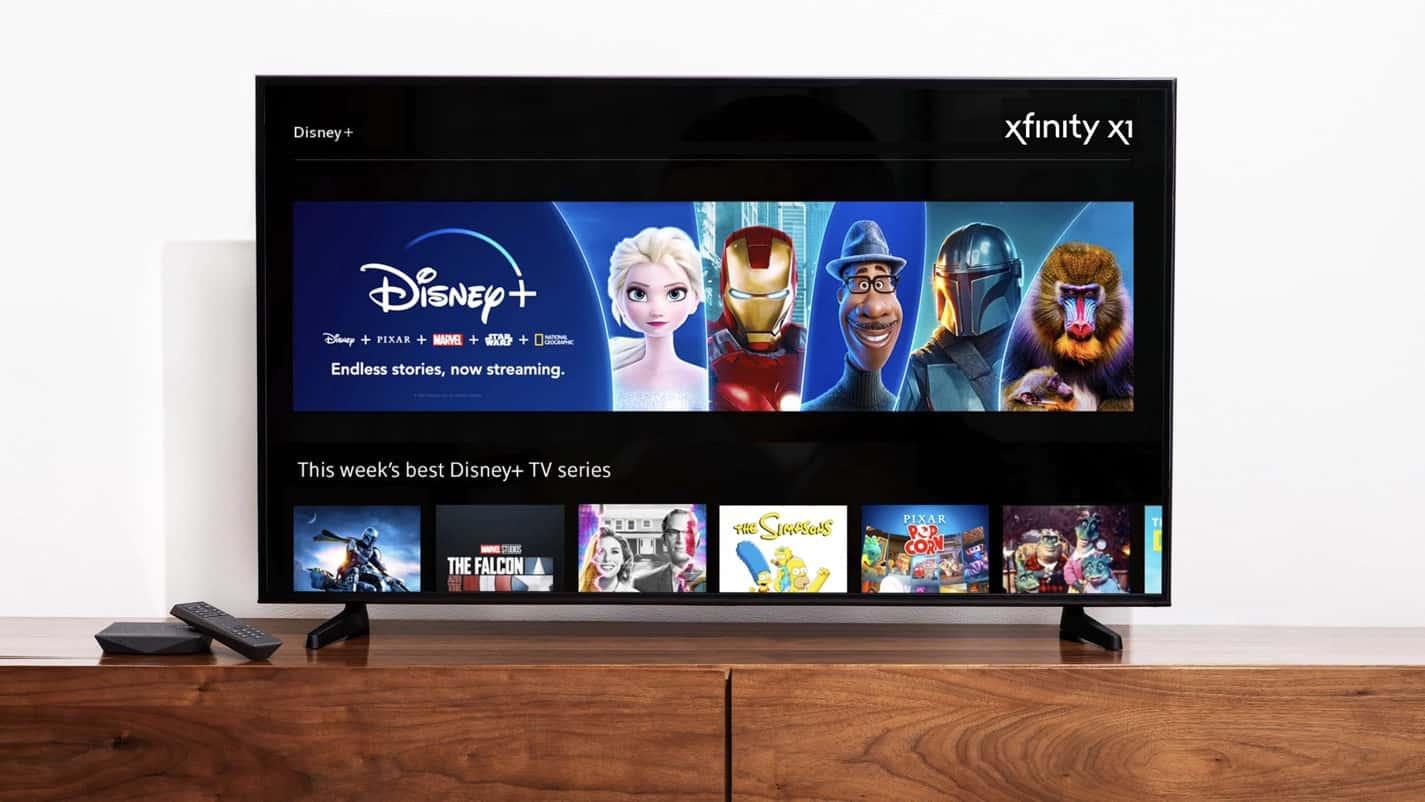 Disney Xfinity Comcast