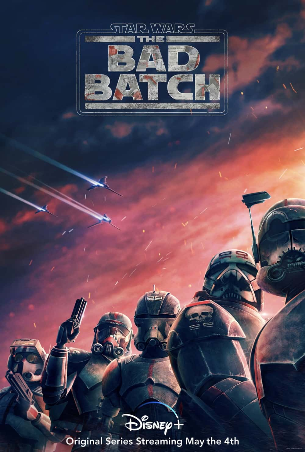STAR WARS THE BAD BATCH Poster Key Art