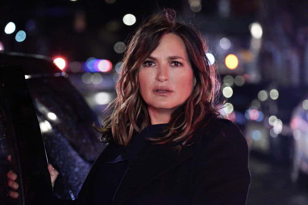 "LAW AND ORDER SVU Season 22 Episode 9  -- ""Return of the Prodigal Son"" Episode 22009 -- Pictured: Mariska Hargitay as Captain Olivia Benson -- (Photo by: Christopher Del Sordo/NBC)"