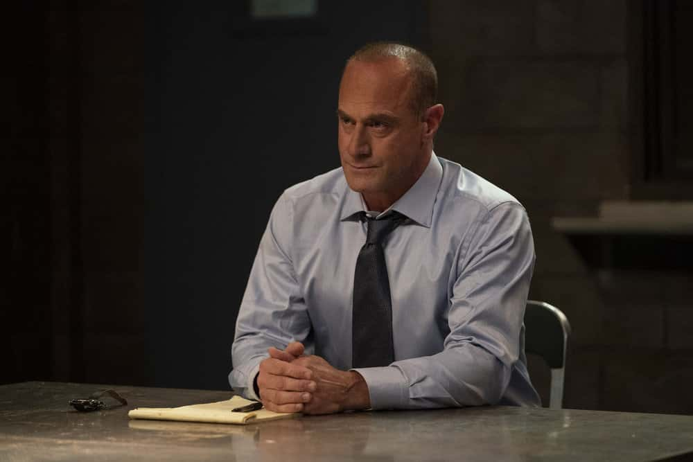 """LAW AND ORDER SVU Season 22 Episode 9 -- """"Return of the Prodigal Son"""" Episode 22009 -- Pictured: Christopher Meloni as Detective Elliot Stabler -- (Photo by: Virginia Sherwood/NBC)"""