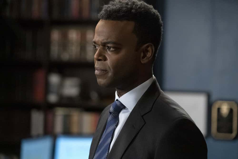 """LAW AND ORDER SVU Season 22 Episode 9 -- """"Return of the Prodigal Son"""" Episode 22009 -- Pictured: Demore Barnes as Deputy Chief Christian Garland -- (Photo by: Heidi Gutman/NBC)"""