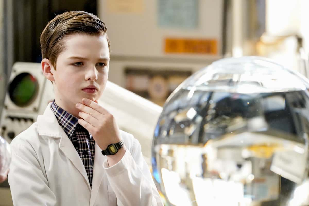 YOUNG SHELDON Season 4 Episode 12 A Box of Treasure and the Meemaw of Science