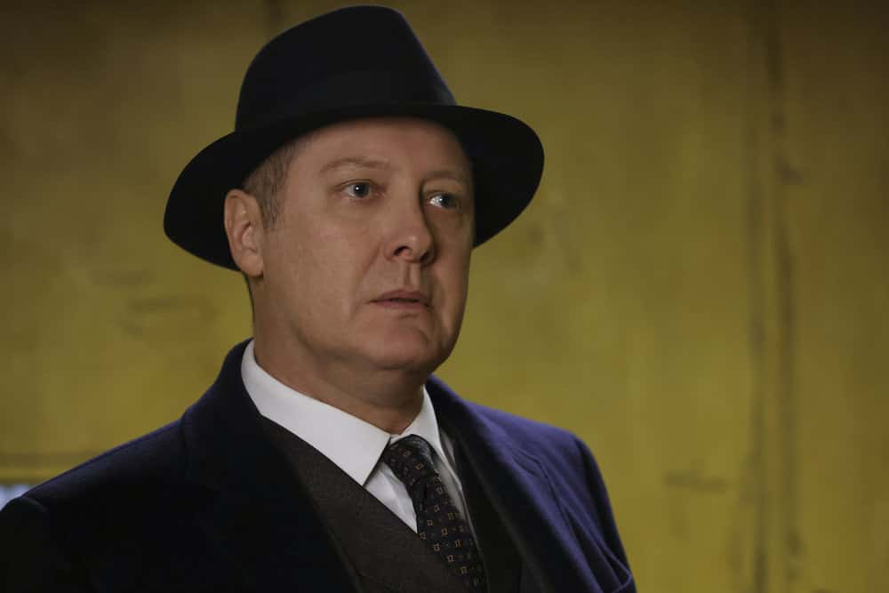 "THE BLACKLIST Season 8 Episode 12 -- ""Rakitin (#28)"" Episode 812 -- Pictured: James Spader as Raymond ""Red"" Reddington -- (Photo by: Will Hart/NBC)"