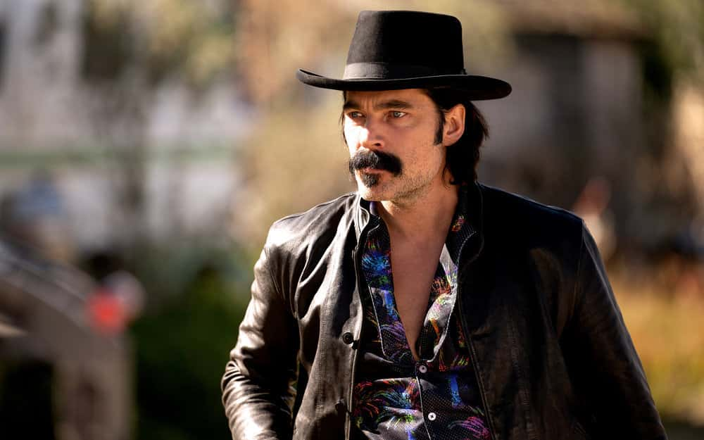"WYNONNA EARP Season 4 Episode 11 -- ""Better Dig Two"" Episode 411 -- Pictured: Tim Rozon as Doc Holliday -- (Photo by: Michelle Faye/Wynonna Earp Productions, Inc./SYFY)"