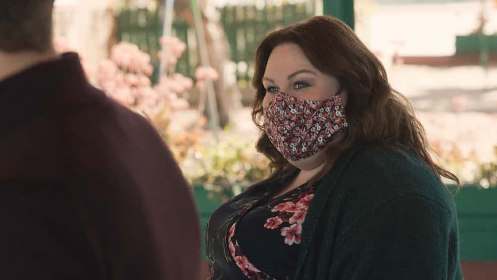 "THIS IS US Season 5 Episode 12  -- ""Both Things Can Be True"" Episode 512 -- Pictured in this screengrab: Chrissy Metz as Kate -- (Photo by: NBC)"
