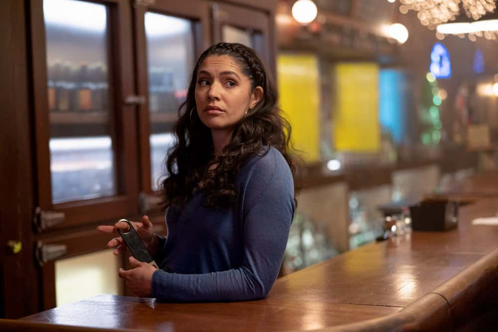 """CHICAGO FIRE Season 9 Episode 11 -- """"A Couple Hundred Degrees"""" Episode 911 -- Pictured: Miranda Rae Mayo as Stella Kidd -- (Photo by: Adrian S. Burrows Sr./NBC)"""